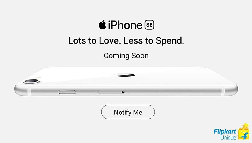 Apple iPhone SE 2020 coming soon on Flipkart; Notify me page goes live