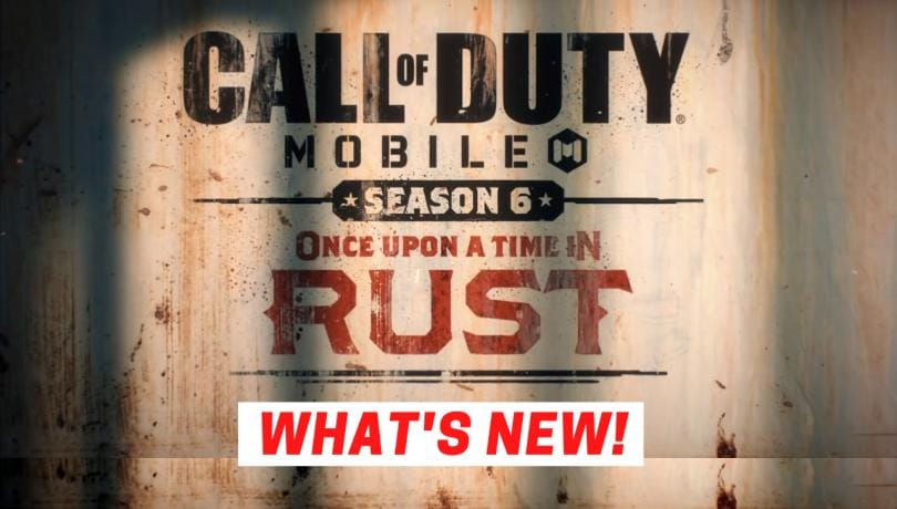 Call of Duty Mobile Season 6: First Look
