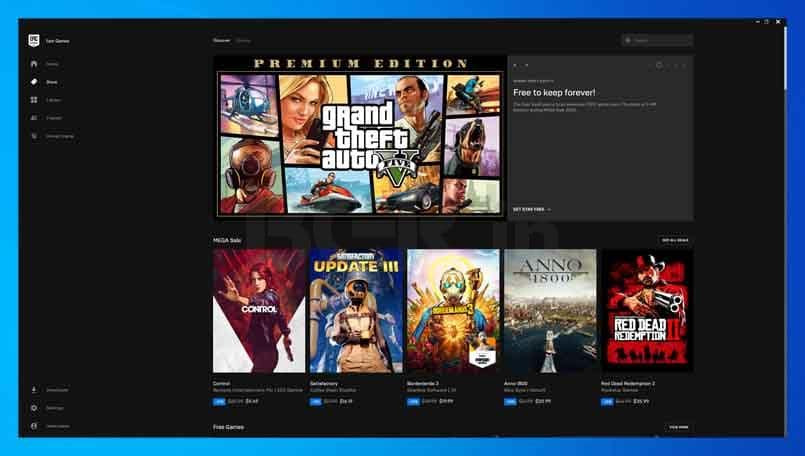 GTA 5 for free on Windows 10 through Epic Games Store 3