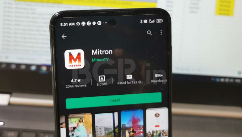 Mitron is now back again on the Google Play Store | BGR India