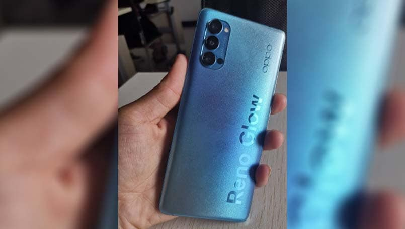 Oppo Reno 4 hands-on images, specifications leaked
