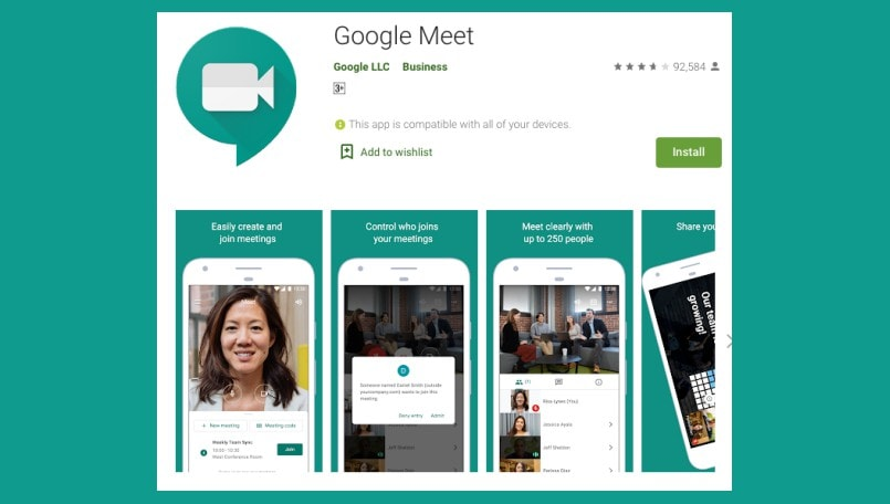 Google Meet in India now supports noise cancelling feature