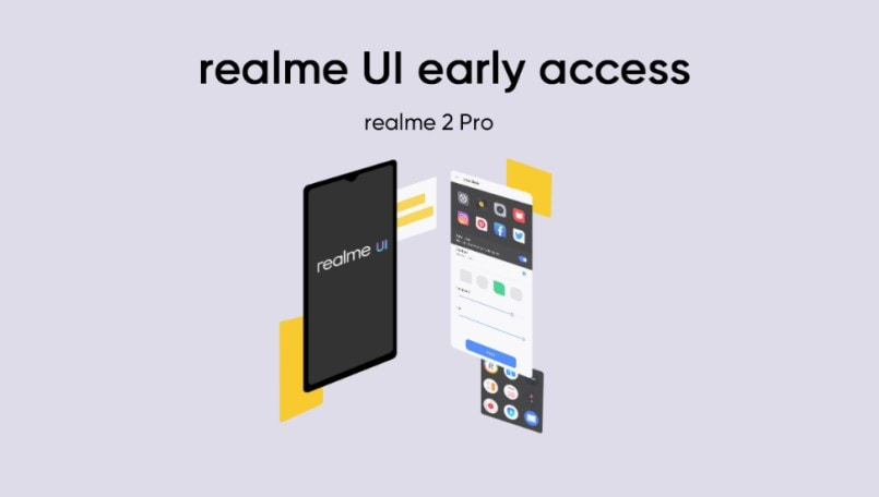 Realme 2 Pro users can now get Early Access to Android 10-based Realme UI