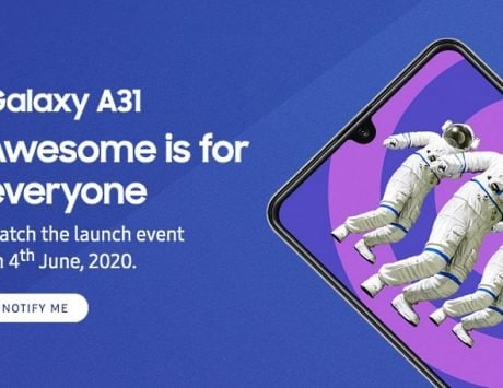 Samsung Galaxy A31 launching in India on June 4