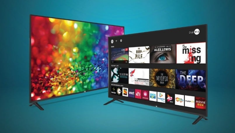 Daiwa launches two 43-inch Smart TVs with 4K and Full-HD panel in India at starting Rs 21,990