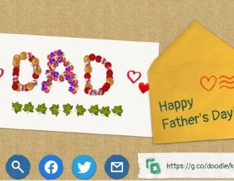 Father's Day 2020: Wish your dad with a cool digital card with latest Google Doodle
