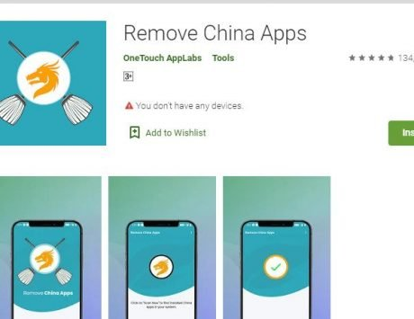 Remove China Apps application taken down from Play Store