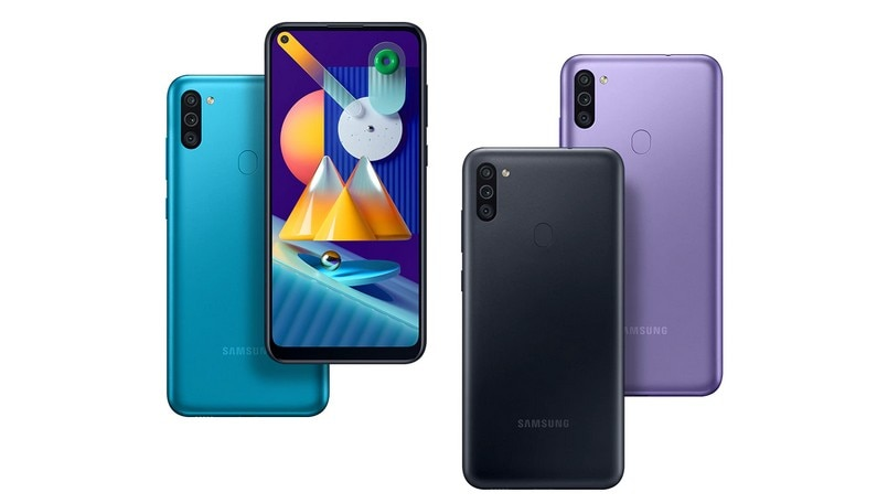Samsung Galaxy M11 and Galaxy M01 launched in India: Price, sale date, full specifications