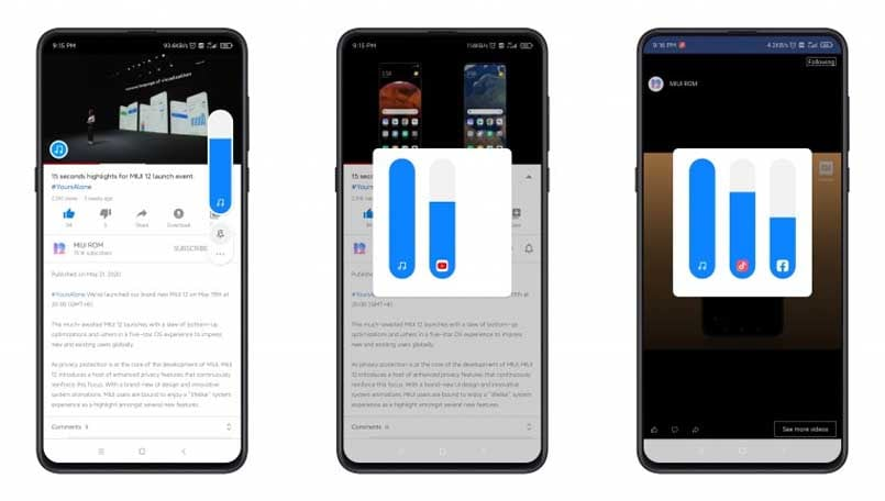 Xiaomi shares details about the Windows 10-like 'Sound Assistant' on MIUI 12; Everything we know