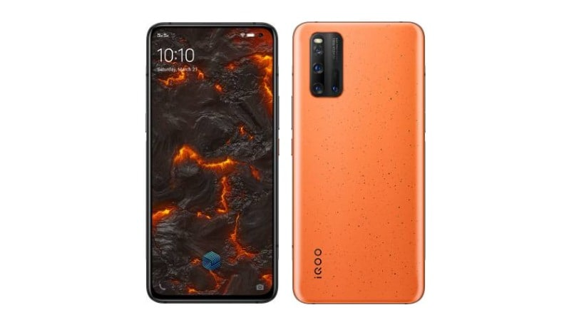 iQOO 3 Volcanic Orange color goes official: Check price in India, offers, specifications