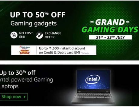 Amazon Grand Gaming Days Sale: Major discounts on gaming devices
