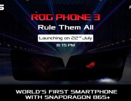 Asus ROG Phone III teased on Flipkart, could feature SD865 Plus