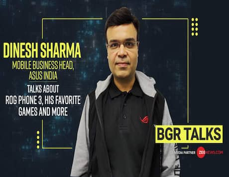 BGR Talks: Dinesh Sharma, Business Head, Mobiles, Asus India