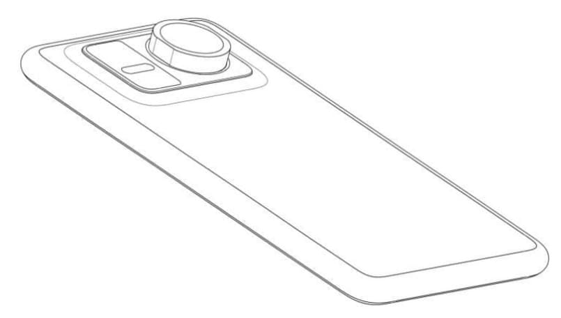 Huawei files patent for smartphone design with an attachable zoom lens