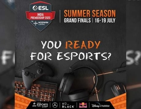 Finale of Nodwin Gaming   s ESL India Premiership Summer Season today