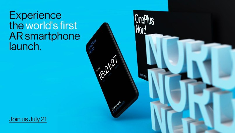 OnePlus Nord AR launch invitations not free: Check India price and its sale details