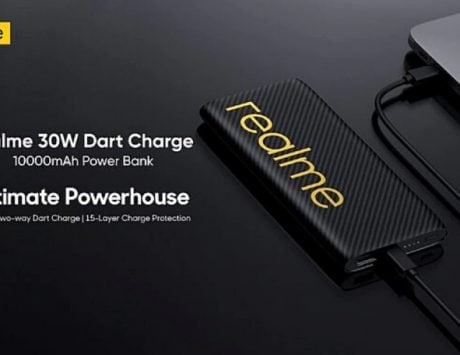 Realme 30W 10,000mAh power bank to launch today