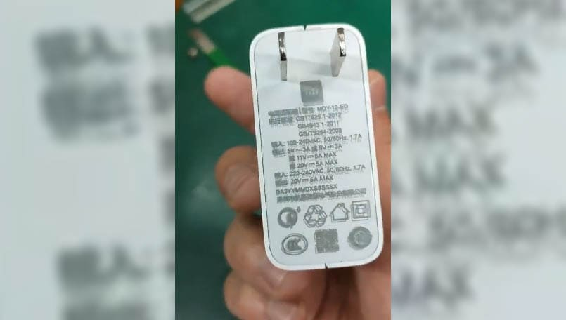 Xiaomi 120W charger to launch soon; receives 3C certificate while hinting at a 100W smartphone