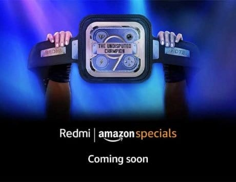 Xiaomi Redmi Note 9    coming soon    to Amazon India; landing page live