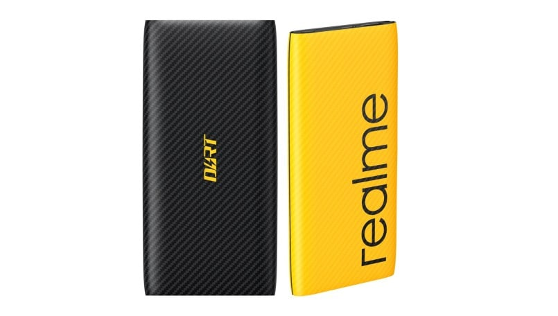 Realme 10,000mAh powerbank with 30W charging spotted