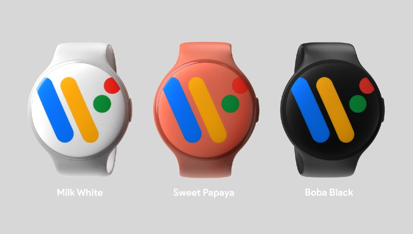Google Pixel Watch renders reveal minimal design, deeper Google Assistant integration