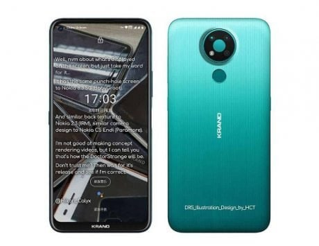Nokia 3.4 leaked renders reveal design