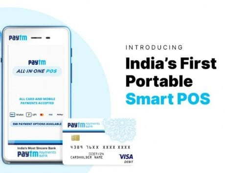 Paytm All-in-One Portable Android Smart POS device launched