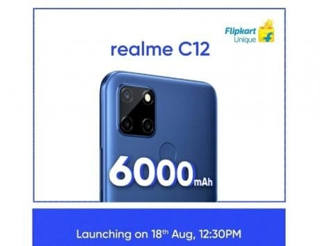 Realme C15, Realme C12 listed on Flipkart ahead of India launch