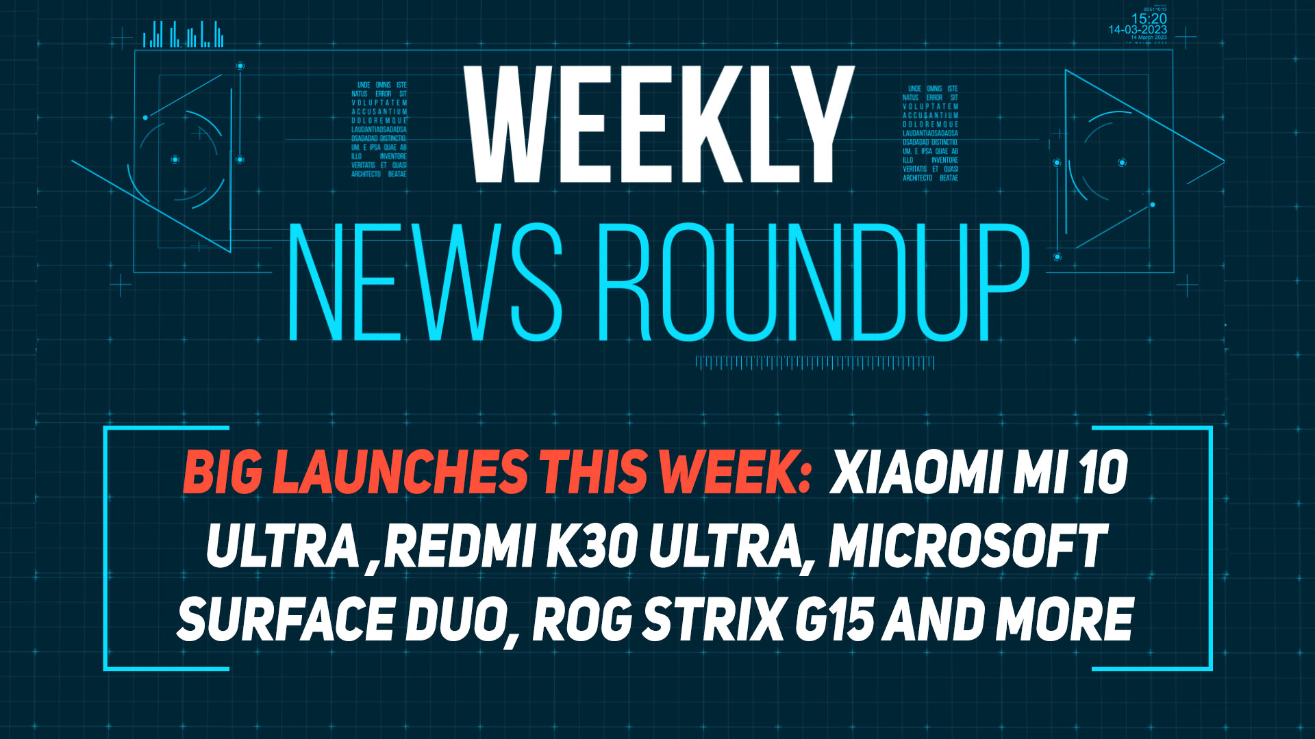 MIUI 12, Mi 10 Ultra, Microsoft Surface Duo and more: Weekly News Roundup