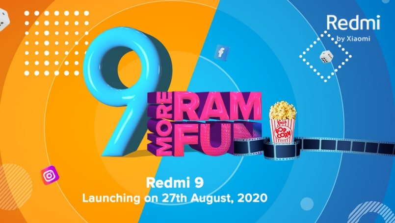 Xiaomi Redmi 9 India launch confirmed for August 27: Expected price, features, specifications