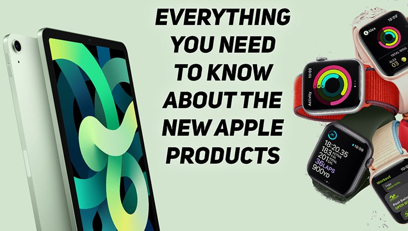 Everything you need to know about Apple Watch Series 6, Apple Watch SE, NEW iPad Air