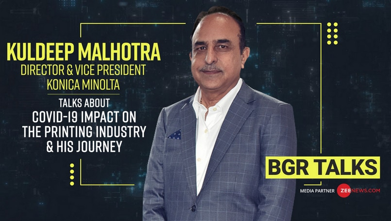 BGR Talks: Kuldeep Malhotra, Director & Vice President, Konica Minolta India