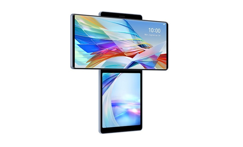 LG Wing smartphone with Dual Rotating Screen officially launched