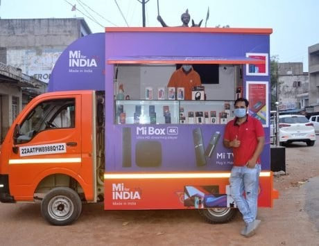 Xiaomi Mi Store on Wheels rolling out in Chattisgarh