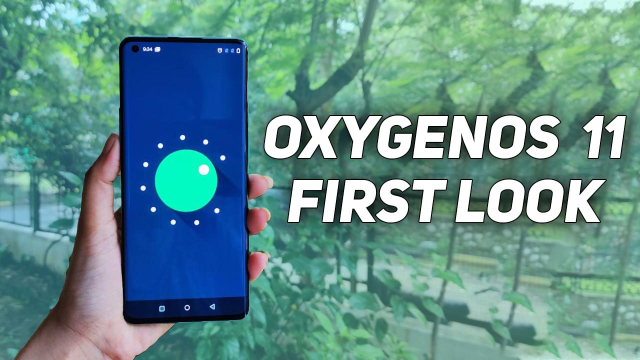 OxygenOS 11: First Look