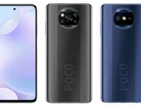 Poco phone with 48MP dual-camera, X3-like design spotted