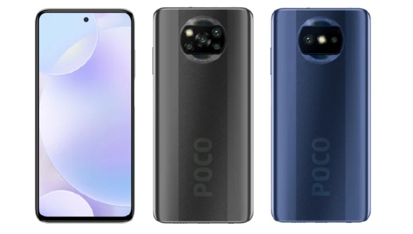 Poco phone with 48MP dual-camera, X3-like design spotted; is this the Poco X3 Lite?