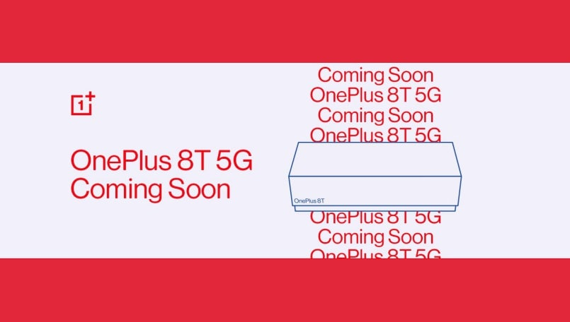 OnePlus 8T 5G launch teased on Amazon India, 'Notify me' page goes live
