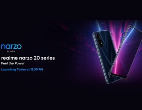 Realme Narzo 20, Narzo 20 Pro and Narzo 20A launch today at 12:30PM