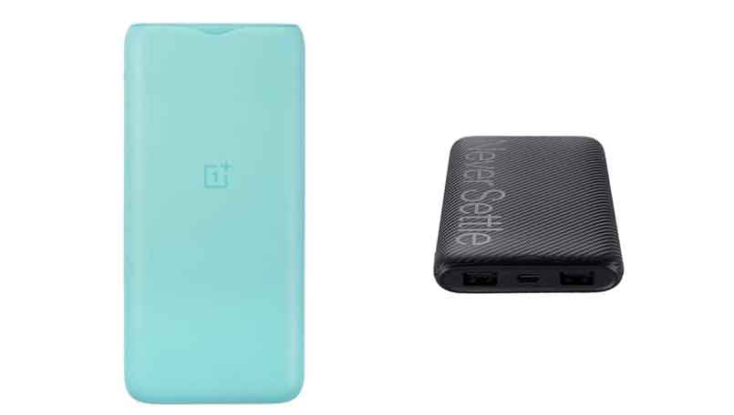 OnePlus 18W power bank to launch with OnePlus 8T, could cost less than Rs 1,500