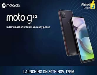 Motorola Moto G 5G set to launch in India today: Specs and price