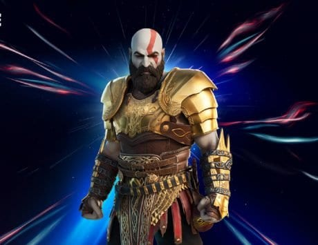 Kratos skin available in Fornite