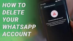 How to Delete your WhatsApp Account!