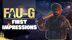 FAUG First Impressions: How does it stand against PUBG Mobile?