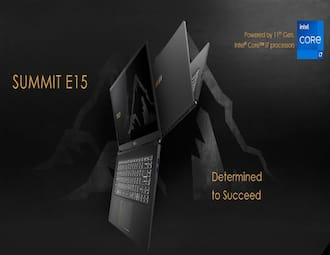 MSI Summit, Prestige, Modern laptops launched in India