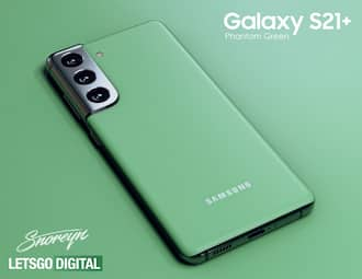 Samsung Galaxy S21 Plus spotted in new green color variant online