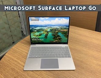 Microsoft Surface Laptop Go first look
