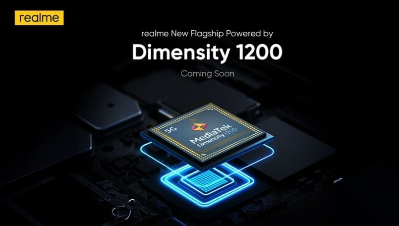 Realme flagship phone with new Dimensity 1200 confirmed to launch soon