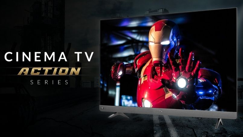 Vu Cinema TV Action series launched in India: Price, features and more
