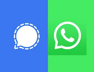 Here's a look at some of the features in WhatsApp that Signal has also added